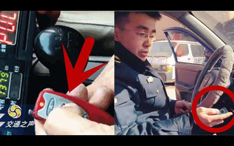 恐怖!常到中國大陸出差或是旅遊的人,如果看到計程車司機手上有這個,請立刻報警!  -