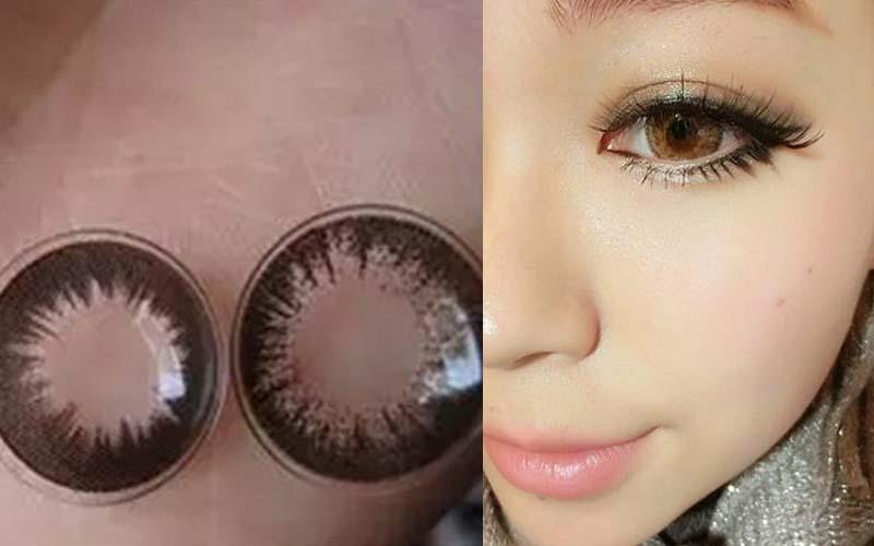 一名女孩不聽勸硬要買網路上來路不明的22MM超放大隱形眼鏡,結果卻讓她嘗到地獄般的苦頭!!  -