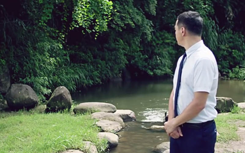 「這對情侶無家可歸…」全聯新推出的中元節廣告讓人越看越毛......網友:有看到東西不要跟我說