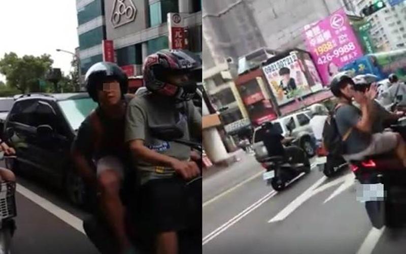"""""""男子騎車抓寶遭勸導,失控跳針怒嗆""""我ㄨㄢˇ路紅人餒!(有影片)"""