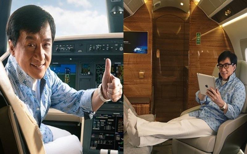 成龍灑六億買的私人豪華飛機大公開!超奢華內裝讓人驚訝到下巴掉下來:原來這就是國際巨星的生活!