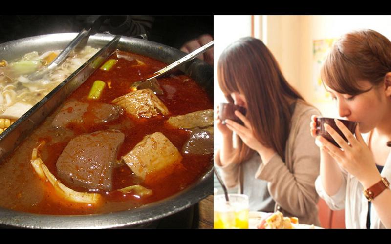 她想喝麻辣火鍋湯竟然被中國來的同學制止!對方還緊張問「臺灣人都喝火鍋湯?!」:湯是精華啊!!
