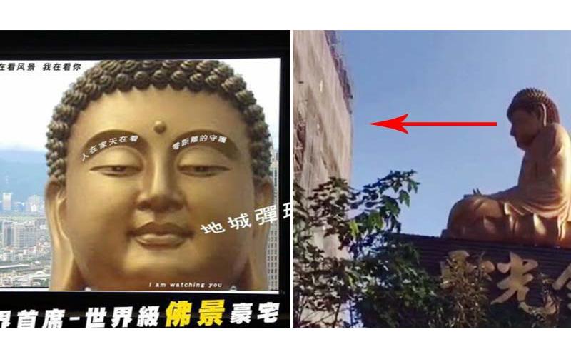 海景第一排算什麼?「佛祖第一排」買這樓的屋主要跟祂對看,網友讚:「給你滿滿的大、佛、祖」!