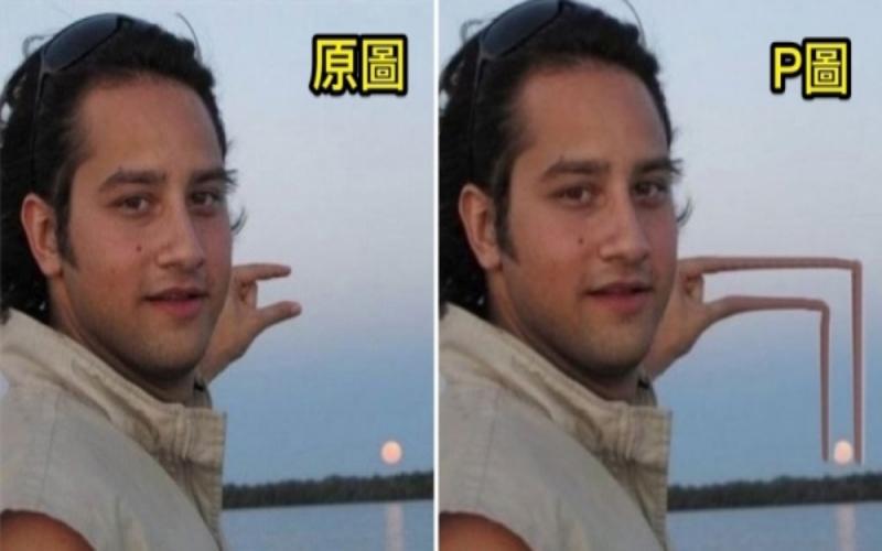 總是學不會!他請網友幫忙「把太陽P到手指間」結果收到14張「超狂失控照」他哭了...!