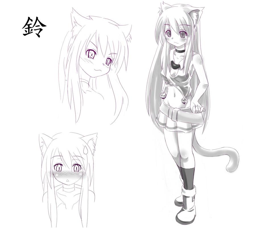 【紫意】【萌物降臨】角色設定-鈴-0
