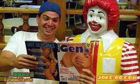 好東西要跟麥當勞叔叔分享!-0