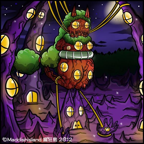 【瘋狂島】瘋狂島1-3 紅岩塔上的科學家。-1