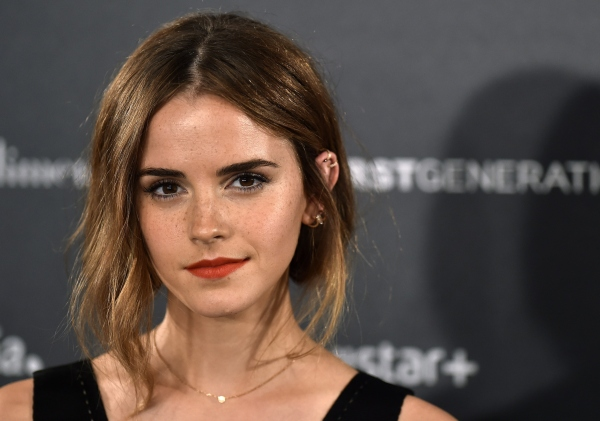 English actress Emma Watson poses during the photocall of Hispano-Chilean director Alejandro Amenabar's movie